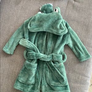 Baby boys Modern Baby green alligator robe 0-9m